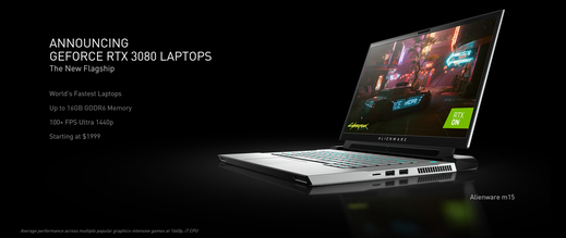The electronics fair brings new gaming laptops, processors and graphics cards