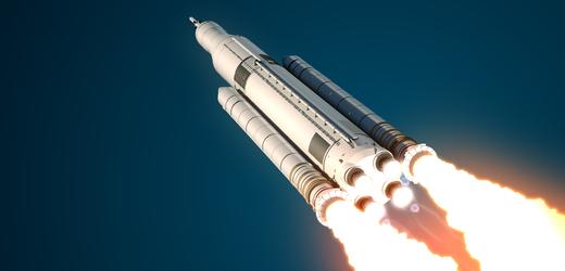 Test motoru nové rakety pro lety na Měsíc skončil v USA předčasně
