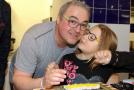 Martin Zounar s dcerou Claudií.