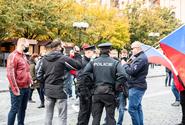 Zákroky při demonstraci na Staroměstském náměstí byly oprávněné, uvedl GIBS