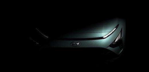 Chystaný model crossoveru Hyundai Bayon.
