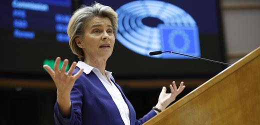 Šéfka Evropské komise Ursula von der Leyenová.