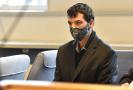 Obžalovaný Lukáš Hartmann u soudu.
