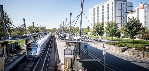Mnichovské metro.