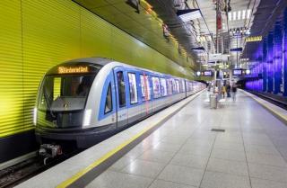 Metro v Mnichově.