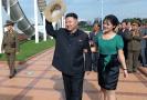 Ri Sol-ču, manželka severokorejského diktátora na snímku z roku 2012.