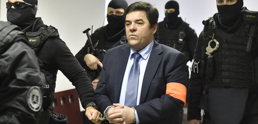 Podnikatel Marian Kočner u soudu.