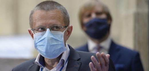 Ředitel Ústavu zdravotnických informací a statistiky Ladislav Dušek.