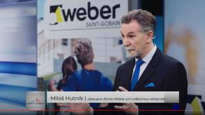 Miloš Hutník, zástupce divize Weber pro odbornou veřejnost.