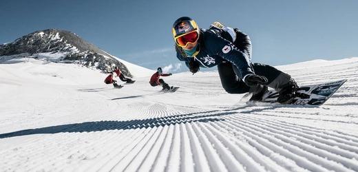 Samková vyhrála v Gruzii a vede Světový pohár ve snowboardcrossu