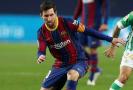 Hvězda Barcelony Lionel Messi.