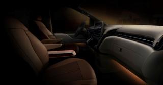 Hyundai Staria Premium interiér.