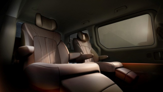 Hyundai Staria Premium vnitřní pohled.