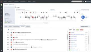 Nahrávání hovorů a interakcí se zákazníky Genesys Cloud.