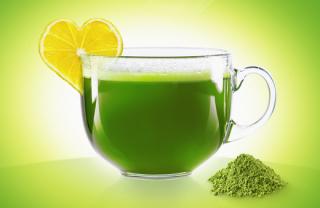 Matcha zelený čaj.
