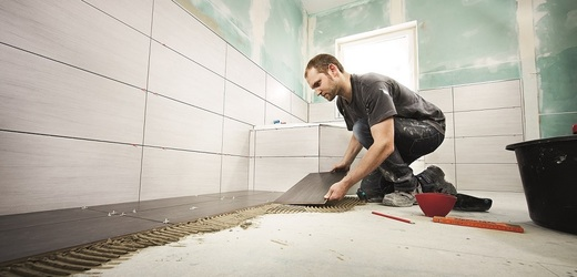 Odborná pokládka podlahy.