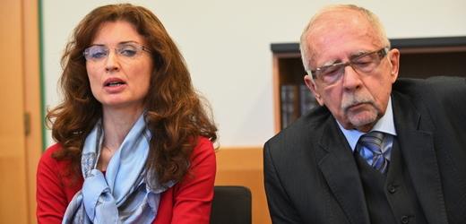 Zástupkyně ombudsmana Monika Šimůnková a ombudsman Stanislav Křeček.