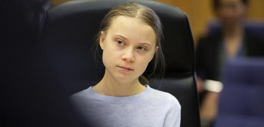Švédská ekologická aktivistka Greta Thunbergová.