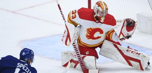 Gólman David Rittich mění poprvé v NHL dres.