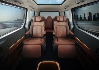 Interiér Hyundai Staria Premium.