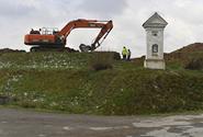 V Olbramovicích začala stavba obchvatu, který odvede z obce tranzitní dopravu