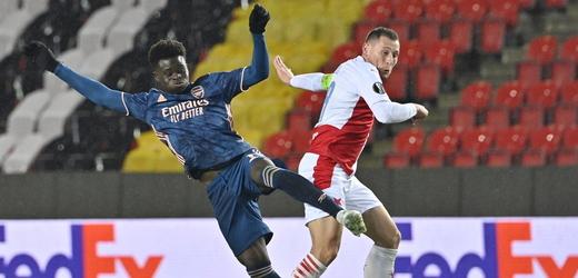 Fotbalisté Slavie byli na Arsenal v odvetě krátcí.