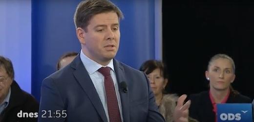 Poslanec Jan Skopeček za ODS.