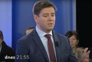 Předvolební Aréna Jaromíra Soukupa s Janem Skopečkem a Věrou Kovářovou