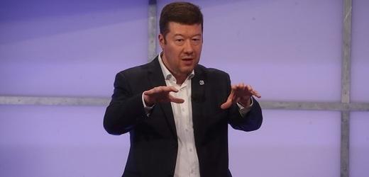 Místopředseda Poslanecké sněmovny a lídr hnutí SPD Tomio Okamura.