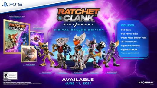 Sony mostrará un avance del nuevo Ratchet & Clank el jueves