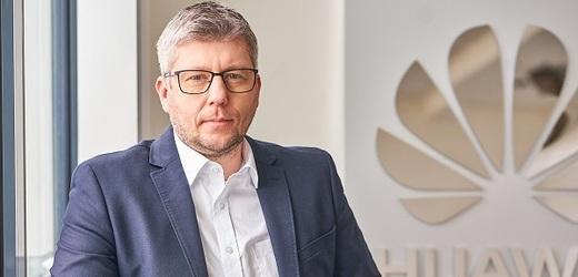 Pavel Košek, ředitel komunikace a odborník na on-line bezpečnost ve společnosti Huawei.