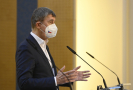 Premiér Andrej Babiš (ANO).
