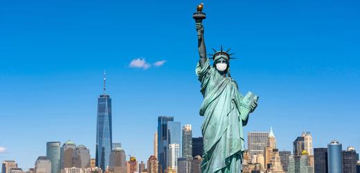 Socha Svobody v New Yorku.