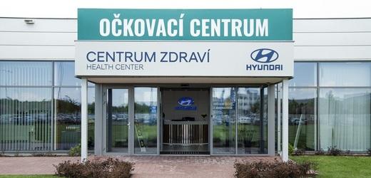 Očkovací centrum Hyundai Nošovice.
