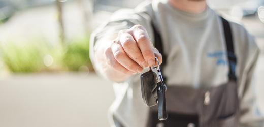 Kupování auta.