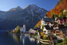 Hallstatt, Rakousko.