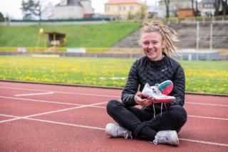 Běžkyně Barbora Malíková.