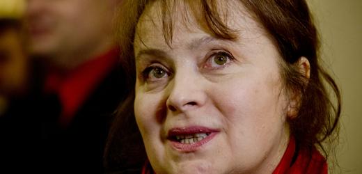 Herečka Libuše Šafránková.