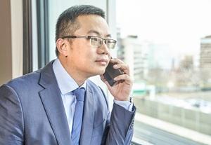 James Tang, generální ředitel české pobočky Huawei.