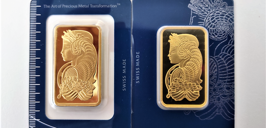 Zlato, originál versus padělek.