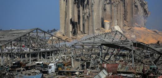 Výbuch v Bejrútu.