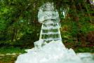 Ledová socha Radegasta.