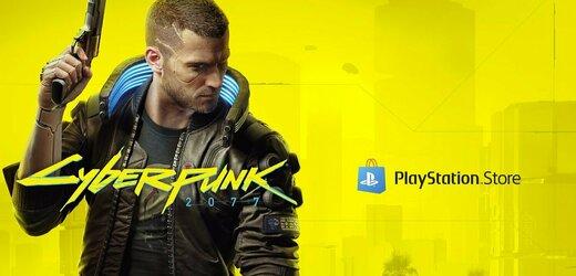 Cyberpunk 2077 lze po půl roce znovu zakoupit na Playstation Store