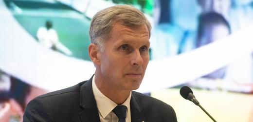 Předseda Českého olympijského výboru (ČOV) Jiří Kejval na zasedání pléna 29. června 2021 v Praze. Výbor schválil předběžnou nominaci na olympijské hry v Tokiu.