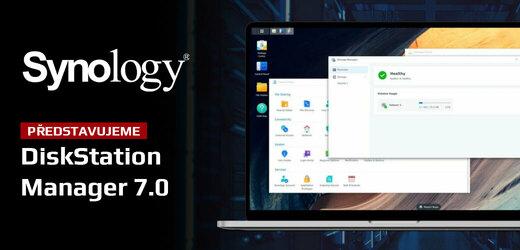 Nově spuštěný DSM 7.0 usnadní zálohování, ukládání velkých her i práci s privátním úložištěm NAS od Synology.