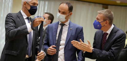 Evropští ministři zahraničí.