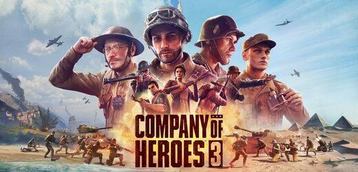 Představeno Company of Heroes 3, bude se odehrávat ve Středomoří.