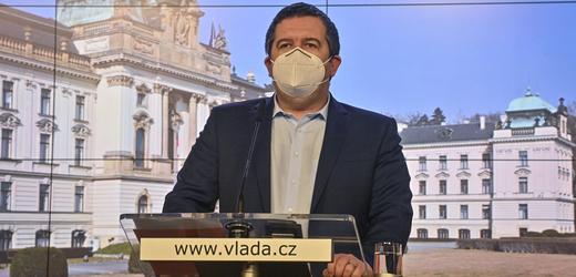 Ministr vnitra Jan Hamáček (ČSSD).