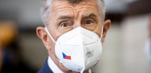 Předseda vlády Andrej Babiš při své návštěvě Královéhradeckého kraje navštívil 22. července 2021 nemocnici v Náchodě.
