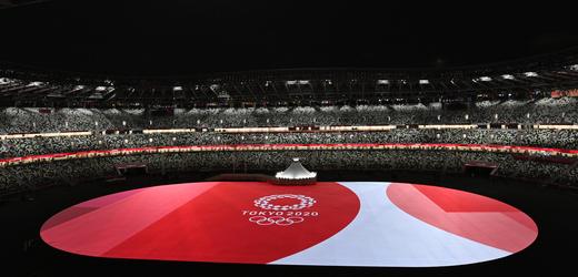 Letní olympijské hry Tokio 2020, 23. července 2021. Slavnostní zahájení olympijských her.